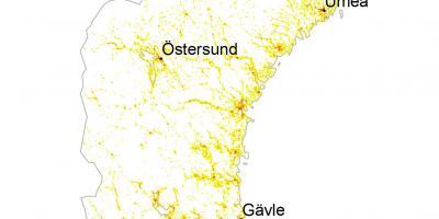 Pohjois Ruotsin Kartta
